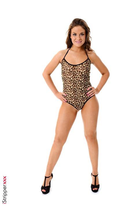Emma Brown Leopard Print Bodysuit