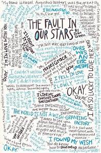 The Fault in Our Stars quotes collage!...
