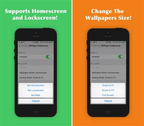 How To Put Animated Wallpaper On Iphone - how to set animated gif as wallpaper on iphone running ios