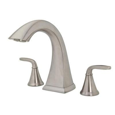 Pasadena Bathroom Fixtures by Pfister Pasadena 2 Handle High Arc Deck Mount Tub