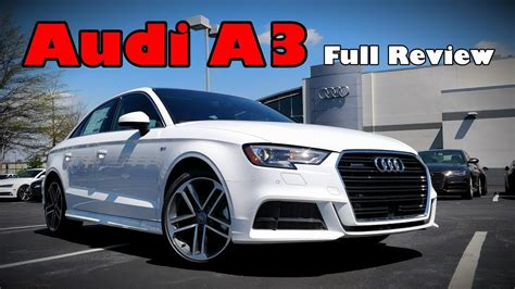 Review Audi A3 by 2018 Audi A3 Sedan Review Prestige Premium Plus