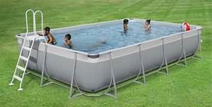 Piscine Tubulaire Hors Sol : piscine hors sol tubulaire easy 5 08 x 2 53 m h 1 25 m waterman ~ Melissatoandfro.com Idées de Décoration