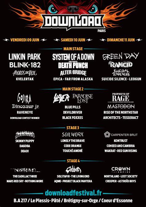Une Nouvelle Annonce Pour Le Download Festival France