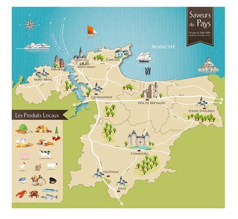 Carte Mont Michel Malo by Documentation Du Pays De Malo