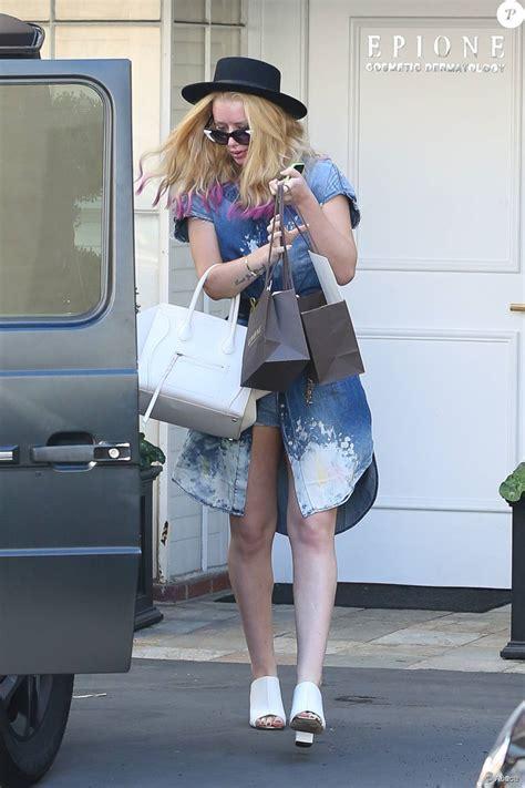 Iggy Azalea quitte l'institut de beauté Epione à Beverly ...