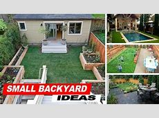 Wow !!! Small Backyard Ideas With Grass YouTube