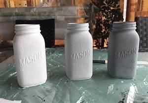 Ouvrir Un Pot De Peinture : pots mason l 39 aspect vieilli le diy complet ~ Medecine-chirurgie-esthetiques.com Avis de Voitures