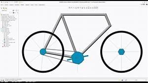 Creo Tutorial - Bicycle Skeleton Mechanism
