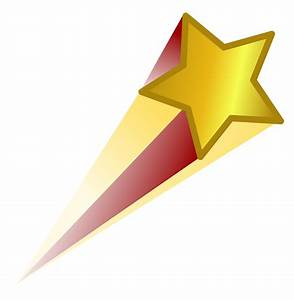 Shooting Star Icon - Cliparts.co