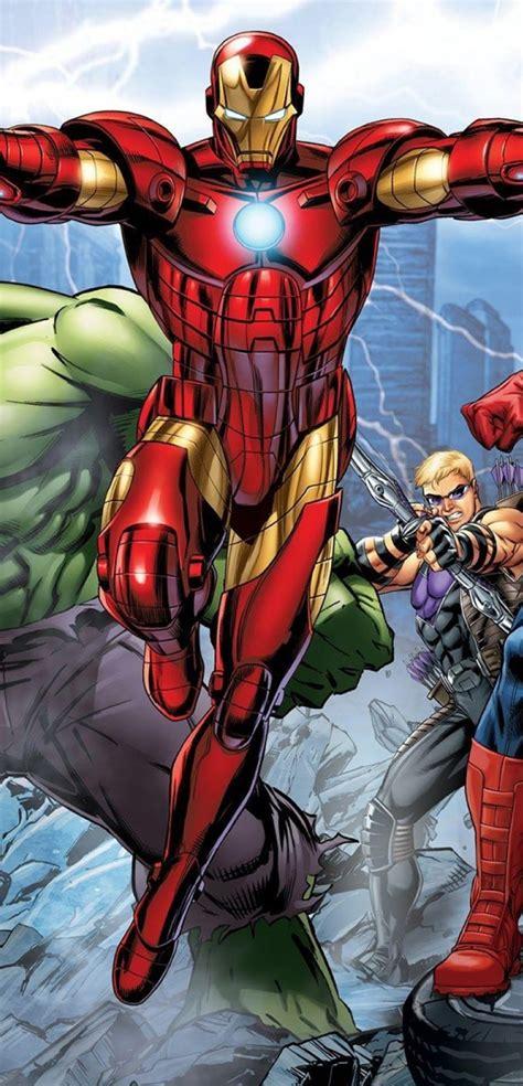1080x2244 Marvel's Avengers Assemble Comic 1080x2244 ...
