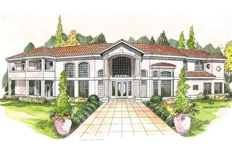 Images Mediterranean Houses Plans by Mediterranean House Plans Veracruz 11 118 Associated