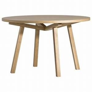 Table Ronde Haute : table haute forme ronde en bois massif design scandinave par sean dix 4 6 personnes ~ Teatrodelosmanantiales.com Idées de Décoration