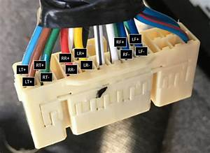 Mark Levinson Amp - Speaker Wire Plug Map