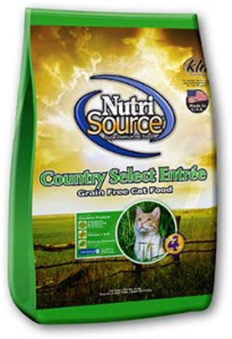 grain  cat food country select nutrisource