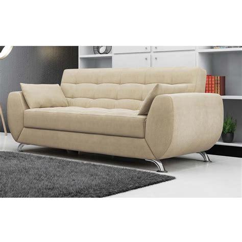 sofá 3 lugares linoforte larissa em tecido suede marrom sof 225 3 lugares linoforte larissa em tecido suede sof 225 s