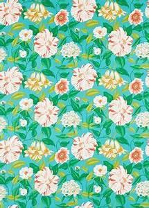 Papier Peint Fleuri : o trouver les grosses fleurs tissu fleuri imprim et ~ Premium-room.com Idées de Décoration