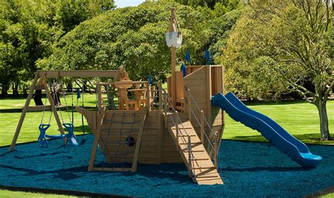 Pirate Ship Backyard Playset by 902 Sailers Delight Small Pirate Ship Playhouse Playset