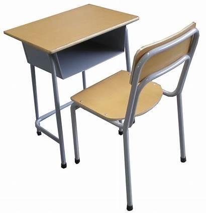 Desk Clipart Chair Advertisement Schools