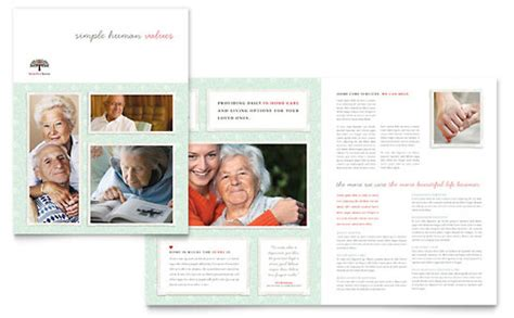 Home Health Care Brochure Templates by Hospice Home Care Flyer Ad Template Design