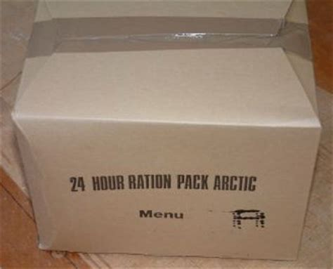 British Rations Picture Gallery  Mre Info