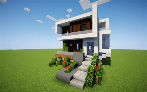 Medium Modern House  Minecraft Project
