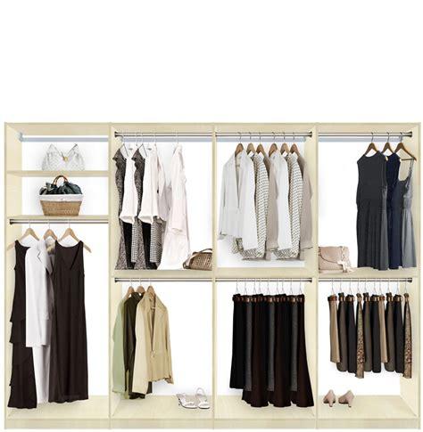 isa walk in closet systems hanging storage