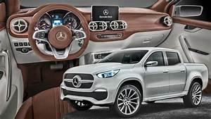 Classe X Mercedes : mercedes x class pickup interior stylish explorer youtube ~ Mglfilm.com Idées de Décoration