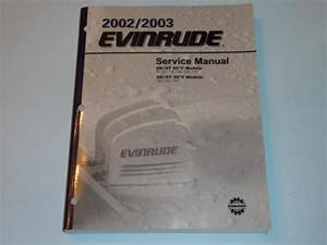 Sell Oem 2002 2003 Evinrude Service Manual Sn St 75 90 115