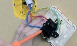 Montage Prise Electrique : montage prise electrique best connectez les fils dans la nouvelle prise en suivant les ~ Melissatoandfro.com Idées de Décoration