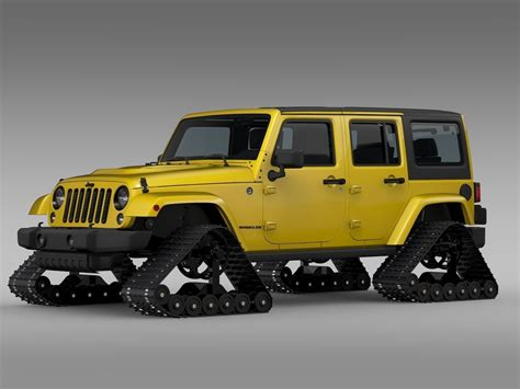 jeep models jeep wrangler unlimited x1 crawler 2016 3d model max obj