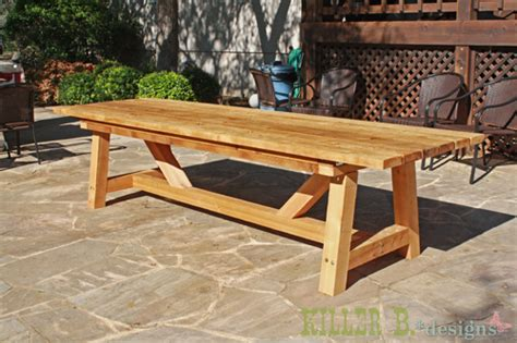 ana white  foot long provence table  xs diy