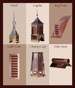 Classic residential copper copper cupolas copper cupola for Cupola vent