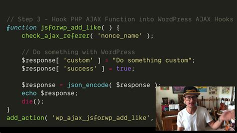 ajax  wordpress  admin ajaxphp youtube