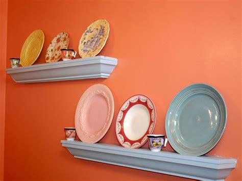 dish display shelves hgtv