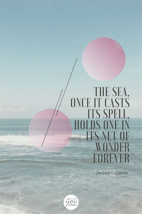 meer zitate jacques cousteau sea you soon
