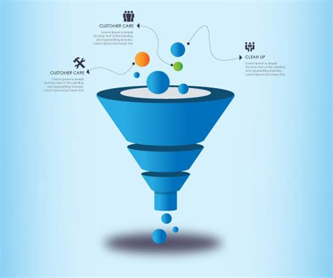 Lead Funnel Template by 3d Funnel For Business Presentation Modern Design On Behance