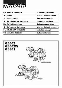 Makita Gb602w Tools Download Manual For Free Now