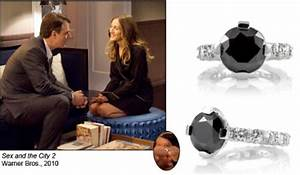 5 celebrities who cant get enough of black diamonds in With carrie bradshaw wedding ring