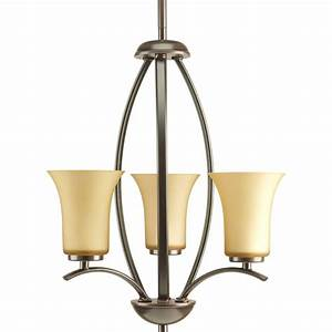 Progress lighting joy collection light antique bronze