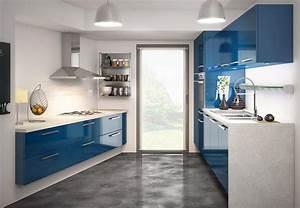 Cuisine Bleue Ikea : meubles de cuisine en couleur femme actuelle ~ Preciouscoupons.com Idées de Décoration
