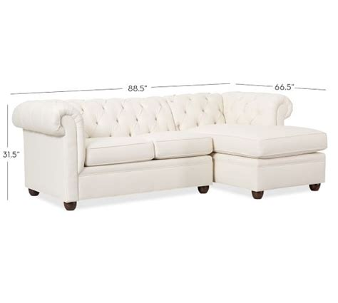 chaise chesterfield chesterfield upholstered sofa with chaise sectional