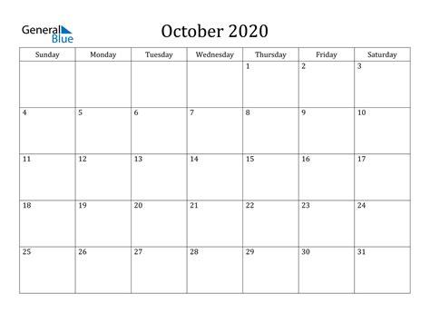 october  calendar  word excel