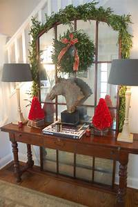 Christmas Decorations For A Hall Table