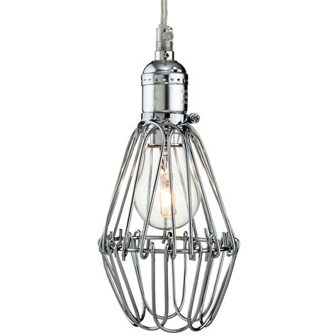 pendant lighting for kitchens firstlight arcade cage pendant in chrome fitting type 4130