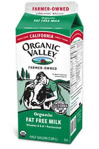 California Organic Milk Brands