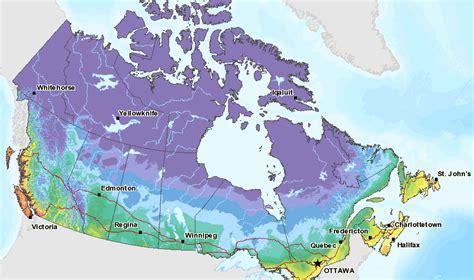 Plant Hardiness Zones  Gardening In Canada