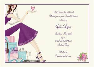 bridal shower invitations custom bridal shower With wedding showers invitations