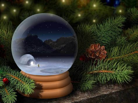 Animated Snow Globe Wallpaper - snow globe wallpapers hd