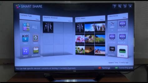 lg smartshare iphone lg smart tv how to use the smart feature vol 4 12571