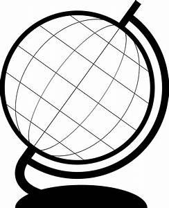 Globe Outline Clipart (39+)